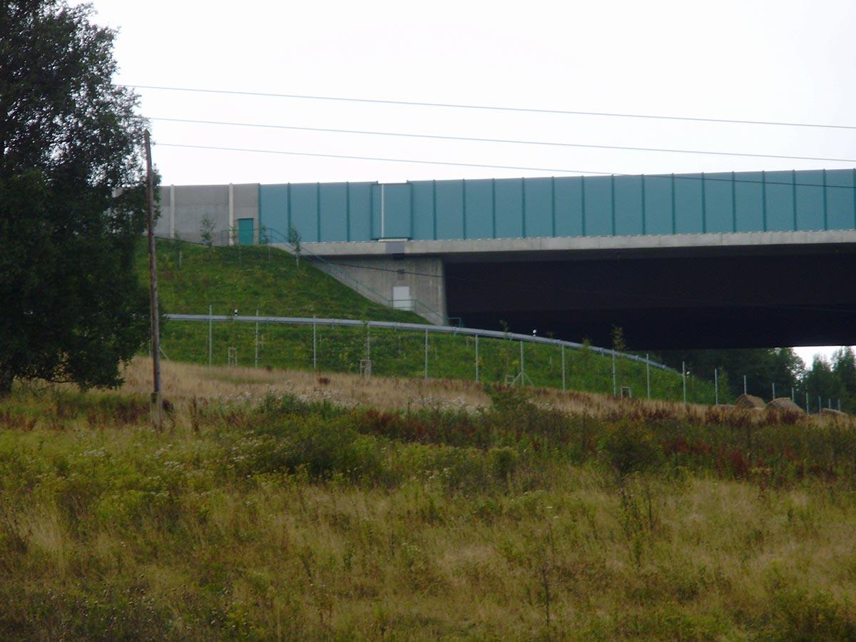 Dálniční most D8 Krasný Les