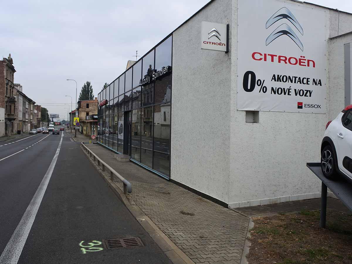 Autosalon Citroen Ústí nad Labem