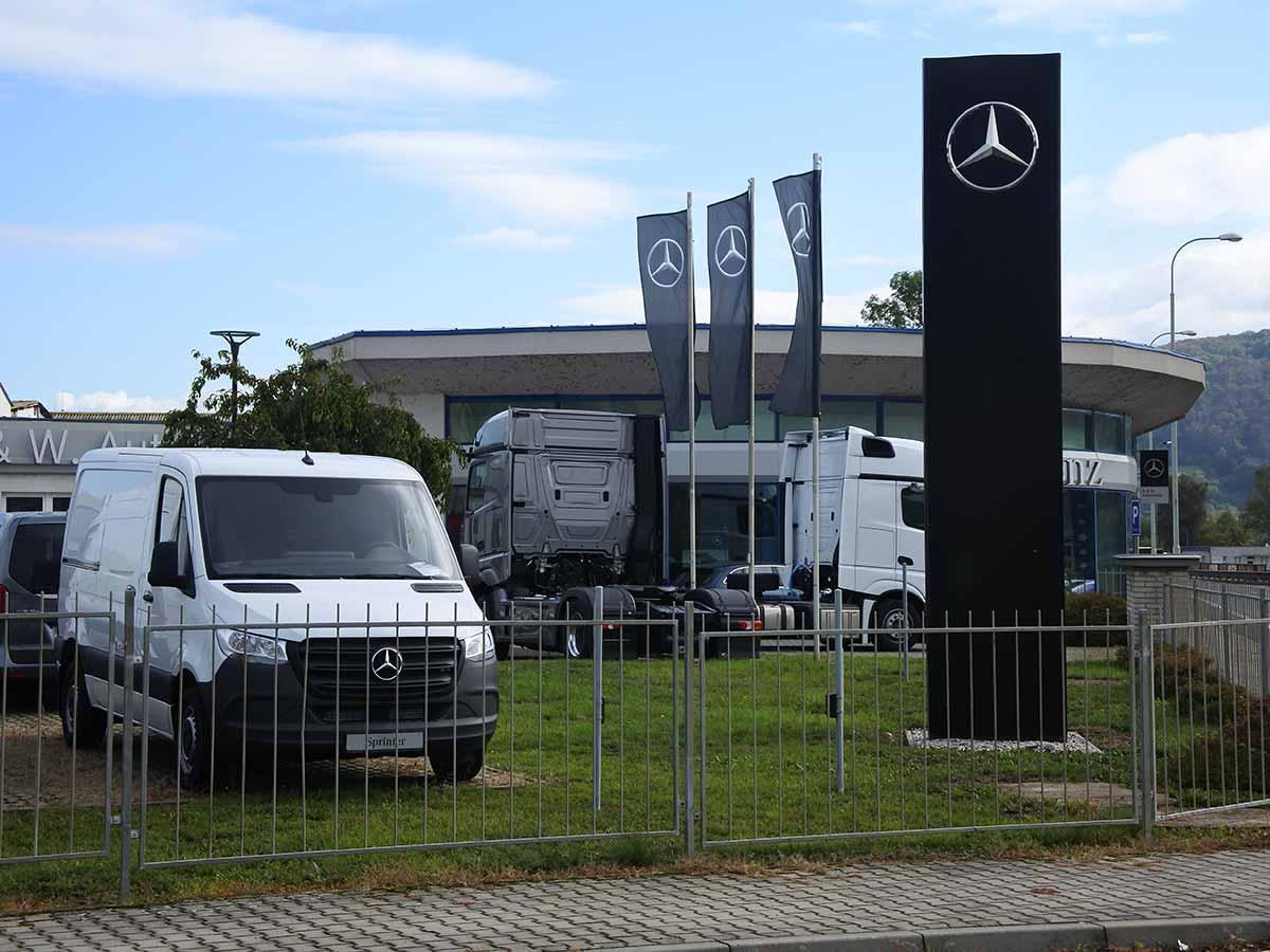 Mercedes Benz - Ústí nad Labem
