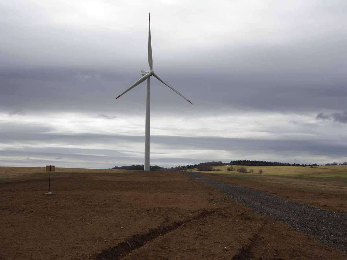 Větrná elektrárna Fojtovice