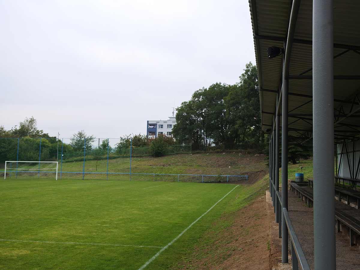 Fotbalové kabiny Mojžíř