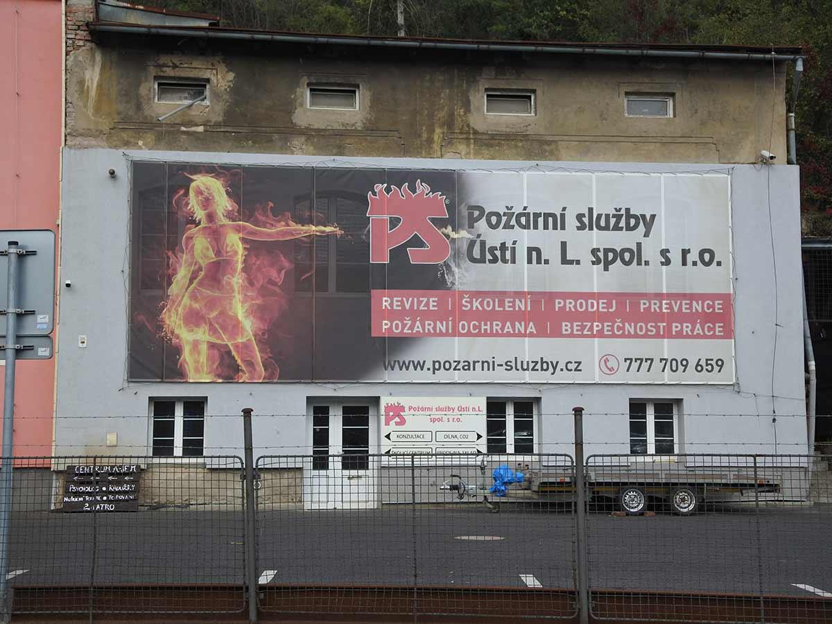 Požární služby Ústí nad Labem