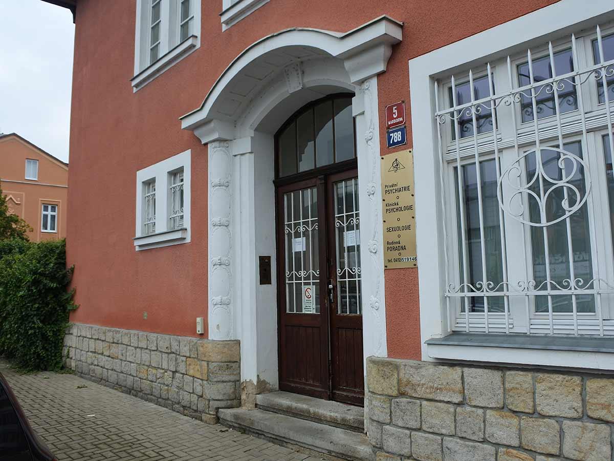 Zdravotní středisko psychiatrie Děčín